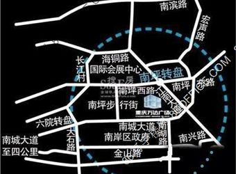 万达广场a座位置图
