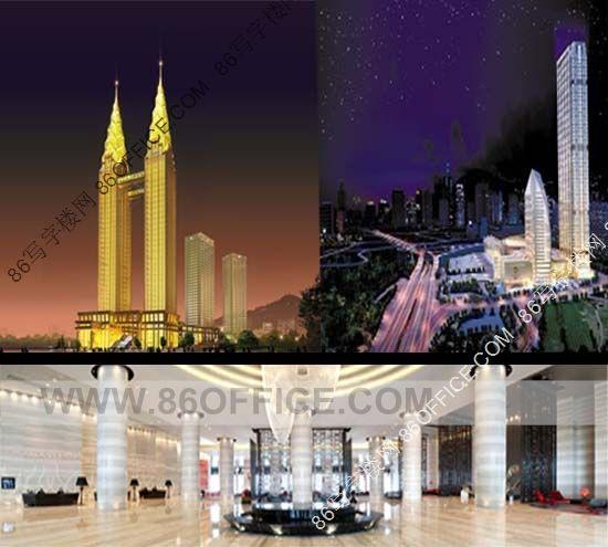 因其金色双子塔外观设计成为城市的地标性建筑物,一时间受到业界,重庆