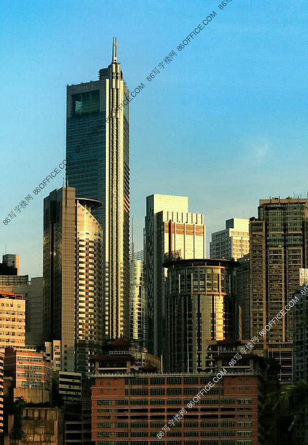 重庆世界贸易中心 外立面