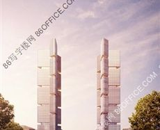 郑东绿地中心外立面