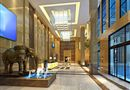 万融国际大厦入口及大堂图