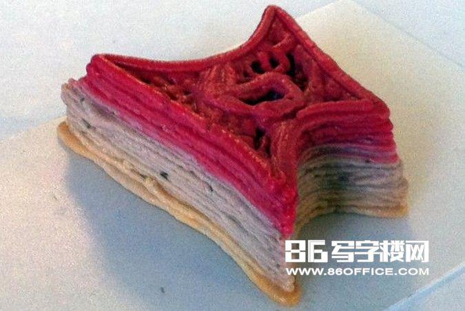 3d食物打印机应用