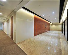 企业天地2号楼电梯前厅及走廊图