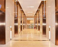 嘉发中心电梯前厅及走廊图