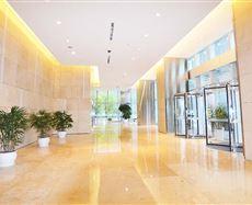 金融城2号电梯前厅及走廊图