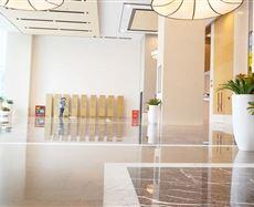 中渝广场2号电梯前厅及走廊图