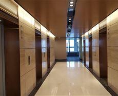 平安国际金融中心电梯前厅及走廊图