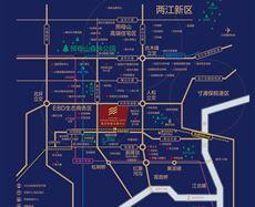 重庆财富金融中心FFC区位图
