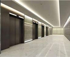 重庆财富金融中心FFC电梯前厅及走廊图
