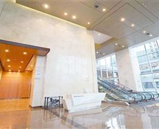 成都国际金融中心入口及大堂图