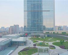 成都国际金融中心景观图