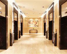 百扬大厦 电梯前厅及走廊图