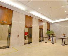 茂业天地电梯前厅及走廊图