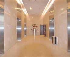 泰丰国际广场电梯前厅及走廊图