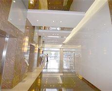 中环广场电梯前厅及走廊图