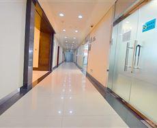 大陆国际电梯前厅及走廊图