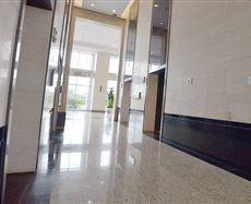 平安财富中心电梯前厅及走廊图