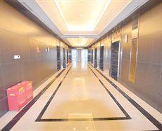 协信中心电梯前厅及走廊图