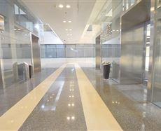 CBP中央商务花园电梯前厅及走廊图