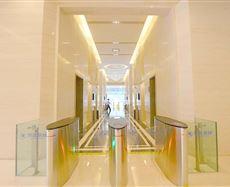 成都国际科技节能大厦电梯前厅及走廊图