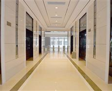 中海国际中心电梯前厅及走廊图