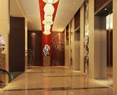 重庆创意公园电梯前厅及走廊图