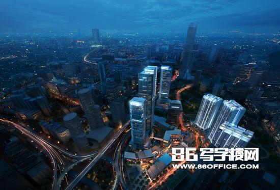 龙湖新壹街写字楼 塑造观音桥商圈商务观