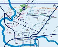 重庆两江健康科技城区位图