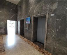 重科智谷电梯前厅及走廊图