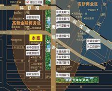 科技二路与沣惠南路交汇处西南角
