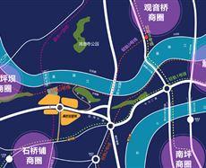 重庆总部城【高层】区位图